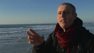 Alain Guyard a l'Espiguette